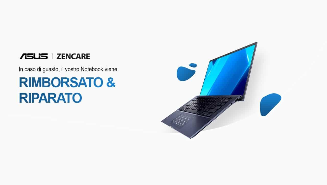 ASUS ZenCare: il programma arriva anche in Italia thumbnail
