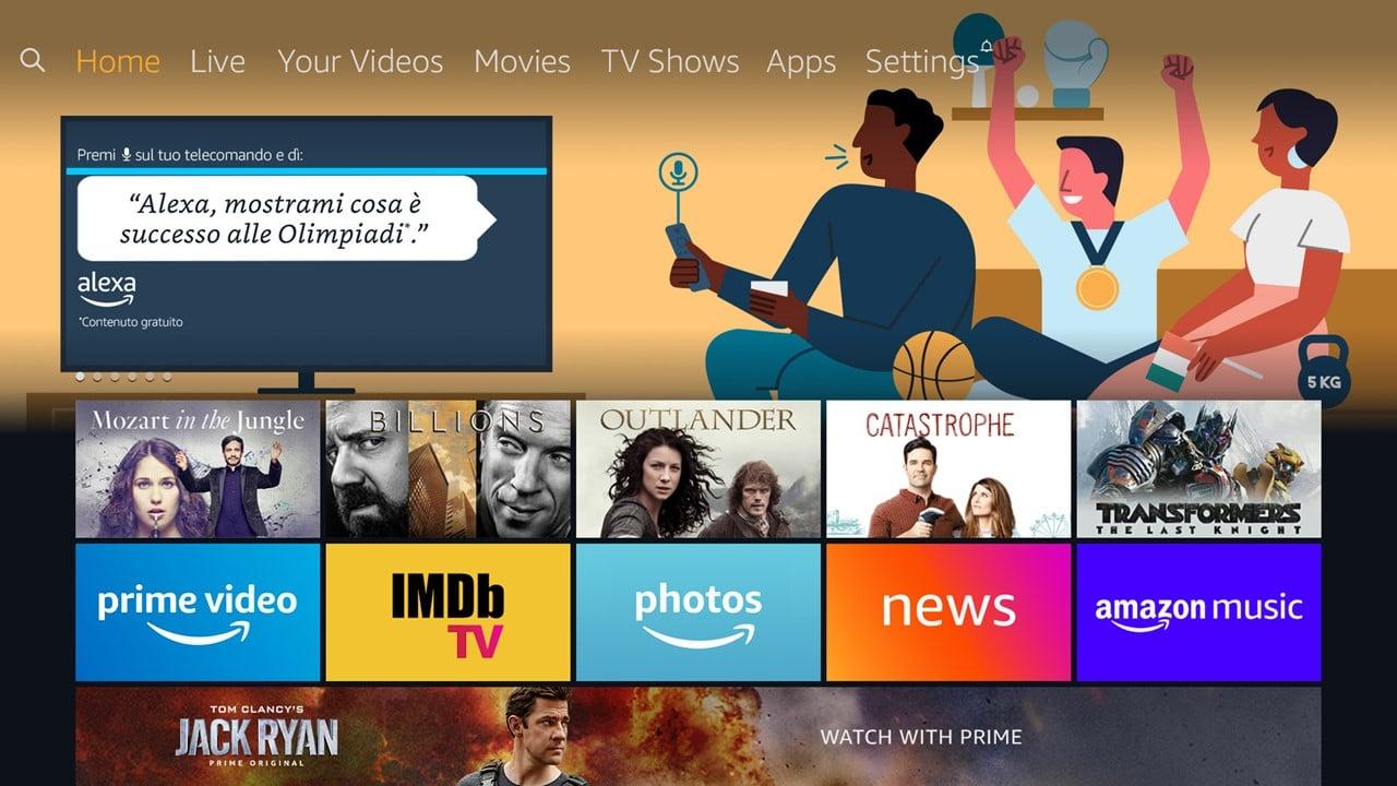 Stanno arrivando i televisori Amazon con Alexa incorporata thumbnail