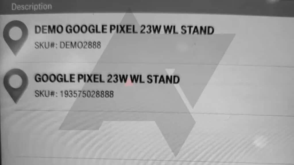 Google Pixel stand riarica wireless 23w