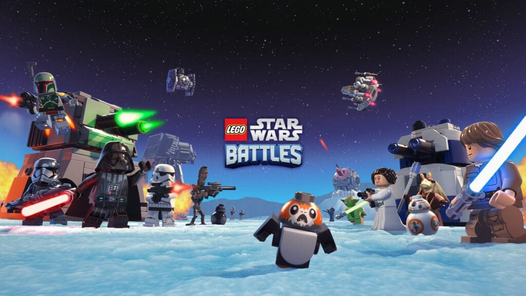 LEGO Star Wars Battles is coming exclusively to Apple Arcade
