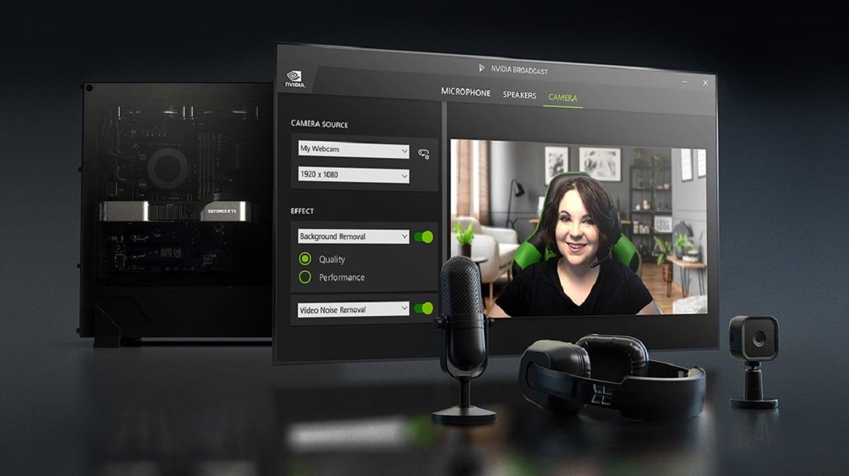 NVIDIA Broadcast: disponibile l'aggiornamento alla versione 1.3 thumbnail