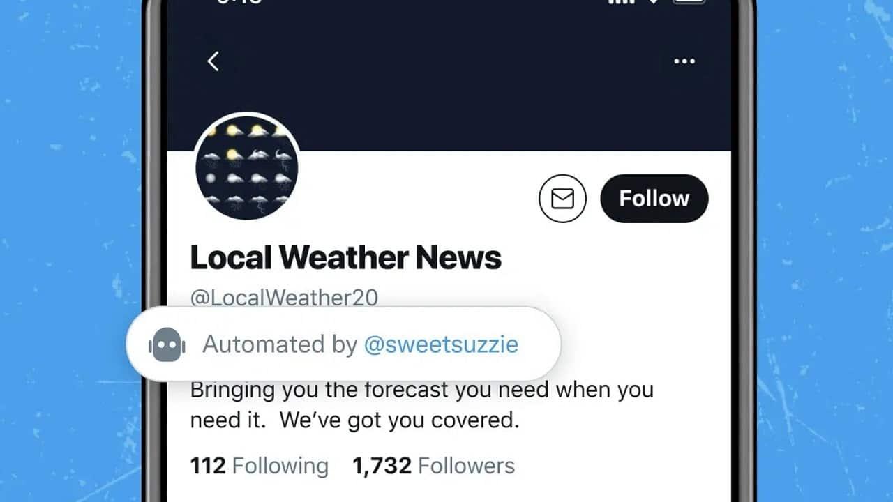 Twitter testa le etichette per gli account bot thumbnail