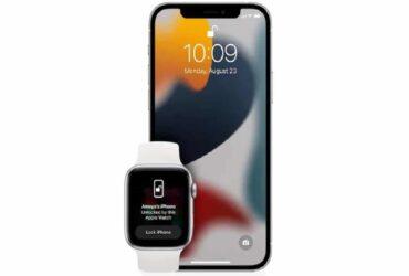 Sblocco con Apple Watch su iPhone 13: in arrivo il fix per il bug thumbnail