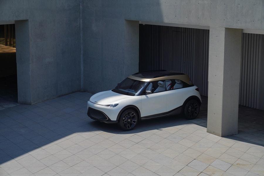 smart Concept # 1, the tech and original electric SUV marks a new era