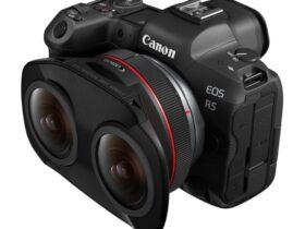 RF 5.2mm f/2.8 L Dual Fisheye Lens For VR Capture