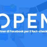 Facebook avvia una partnership con Open contro la disinformazione thumbnail
