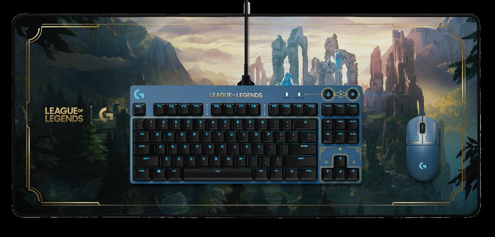 Diamo uno sguardo all setup da gaming ufficiale di League of Legends thumbnail