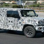 La nuova Suzuki Jimny a 5 porte è in arrivo thumbnail